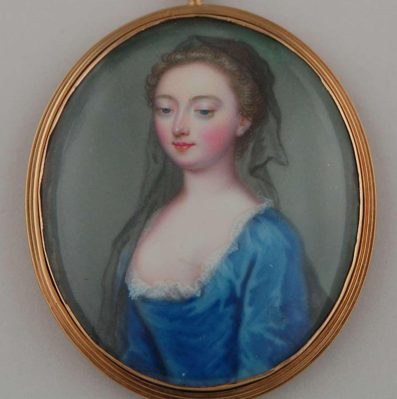 Mrs Petit by Zincke