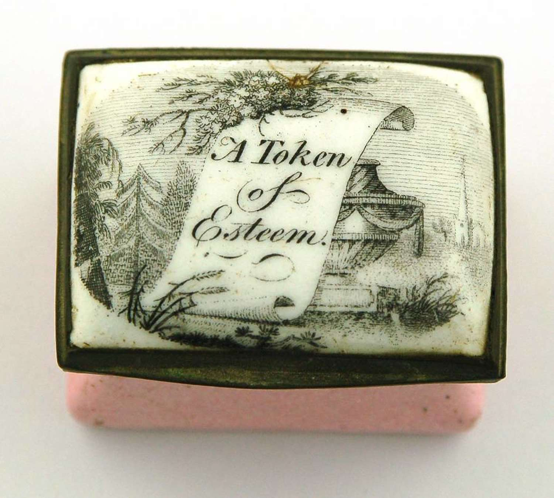A token of esteem