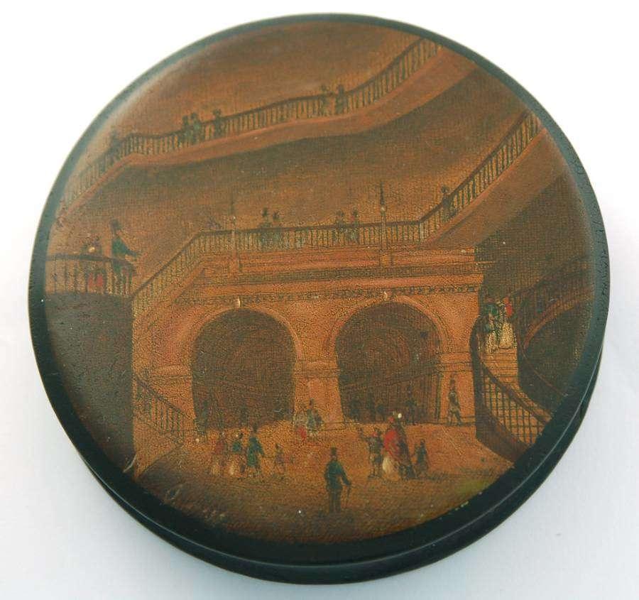 Thames tunnel box