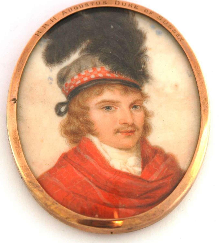 HRH Augustus Duke of Sussex