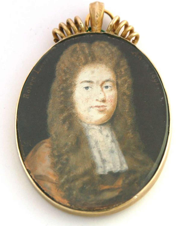 Robert Lovett by S P Rosse 1691
