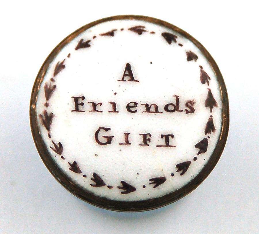 A friend's gift