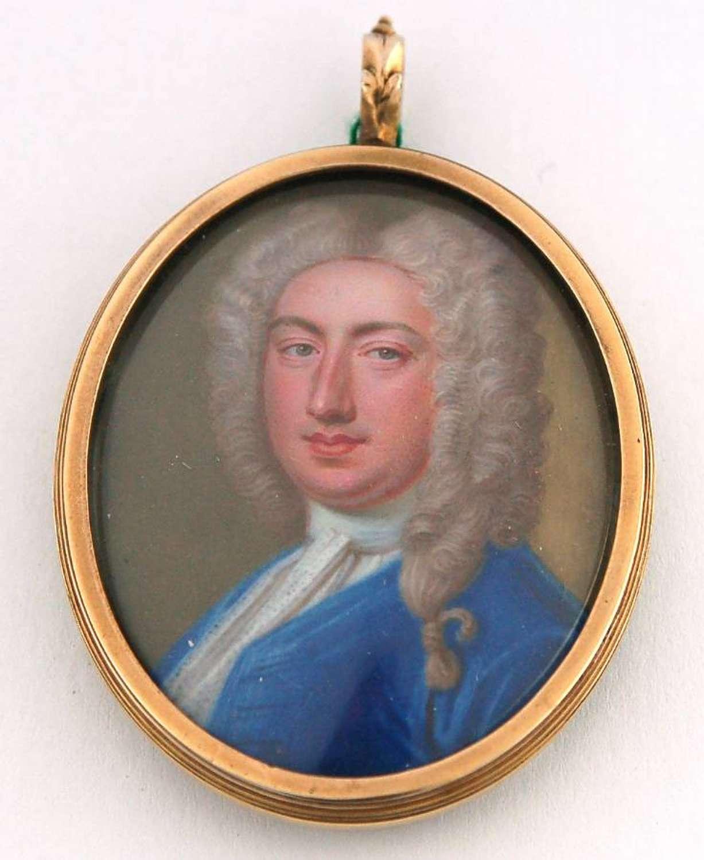 Lord Nathaniel Hooke by Zincke
