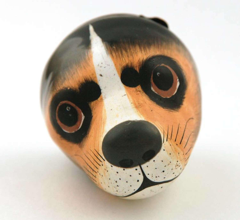 Beagle's head bonbonniere