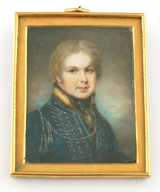 Richard Rochfort of Kings Royal Irish regiment by S Shelley