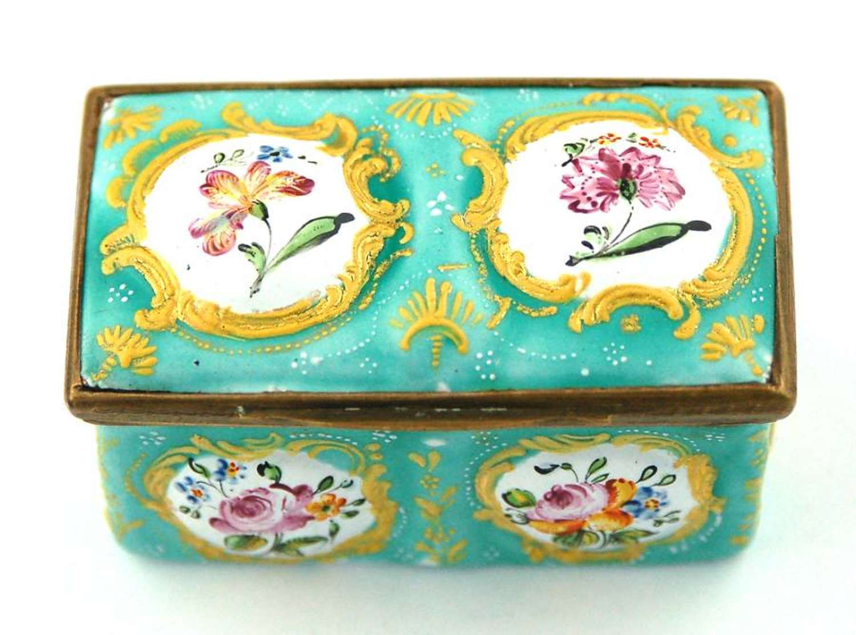 Repousse Floral Box