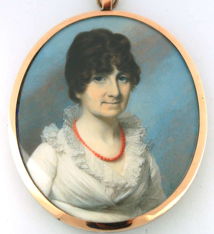 Signed Engleheart Lady