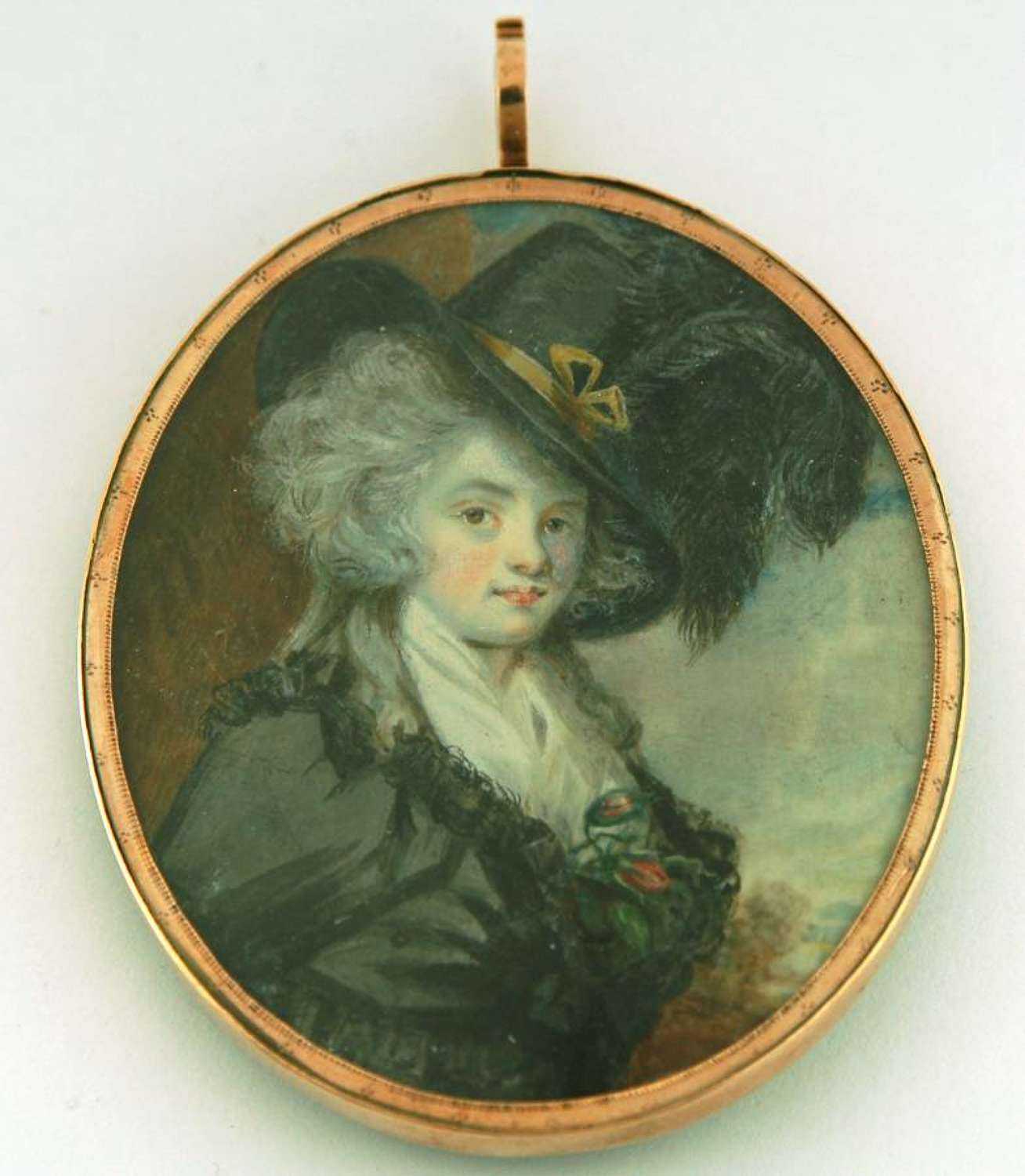 Lady with Plumed Hat
