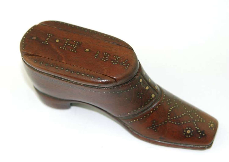 Shoe Snuff 1834