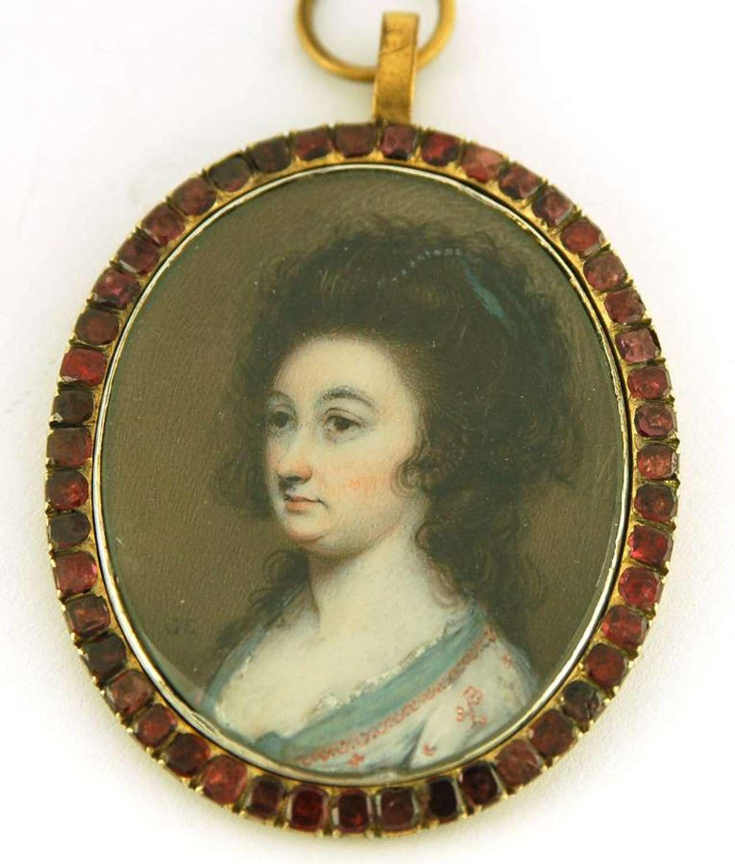 Mrs Sophia Beale Bonnell by Engleheart