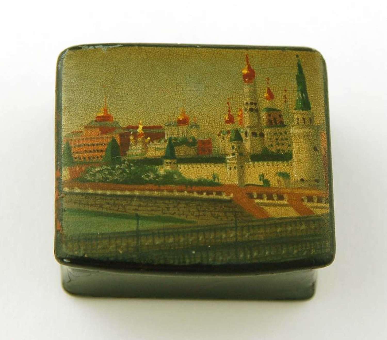 Russian Stamp Box