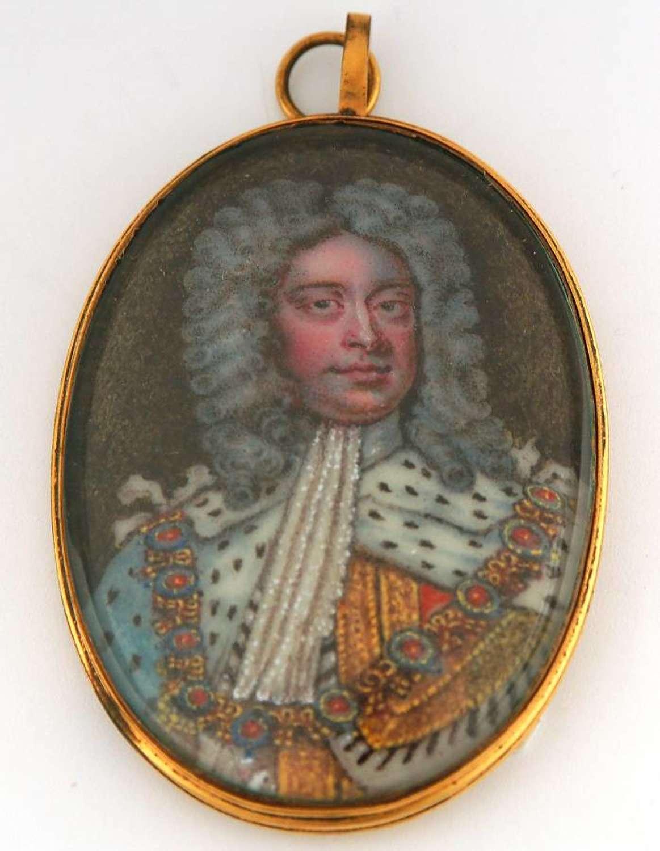 George II on Enamel