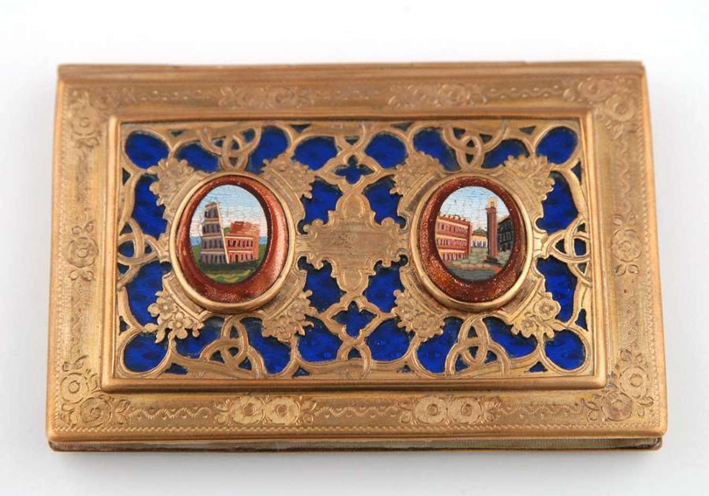 Aide-Memoire set with Mosaics