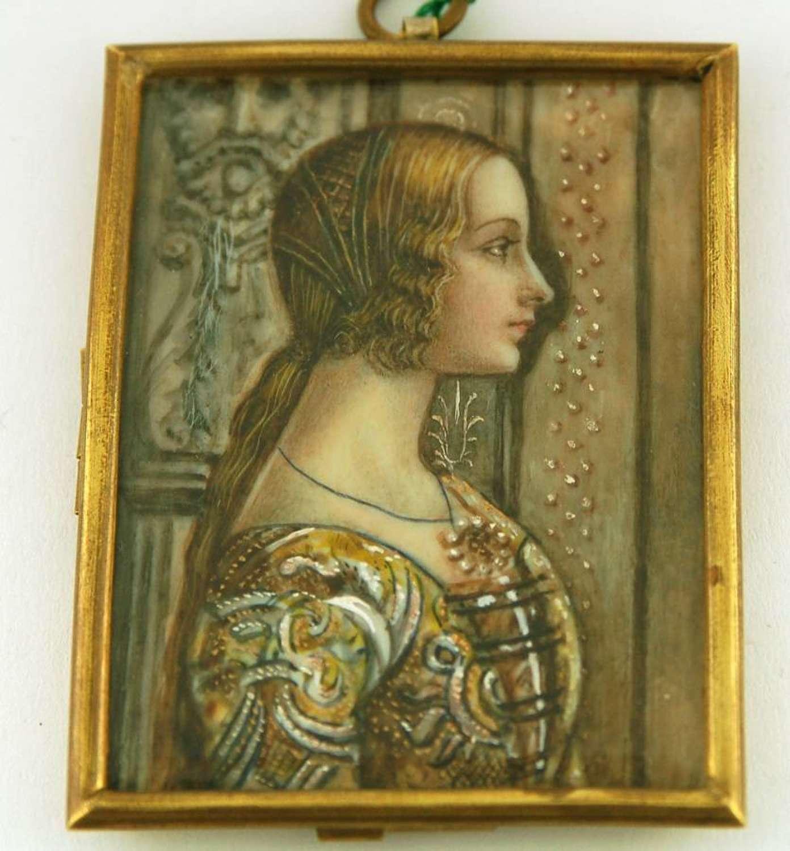 Pre-Raphelite Lady
