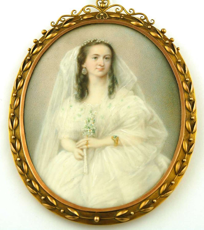 Miniature of a Bride