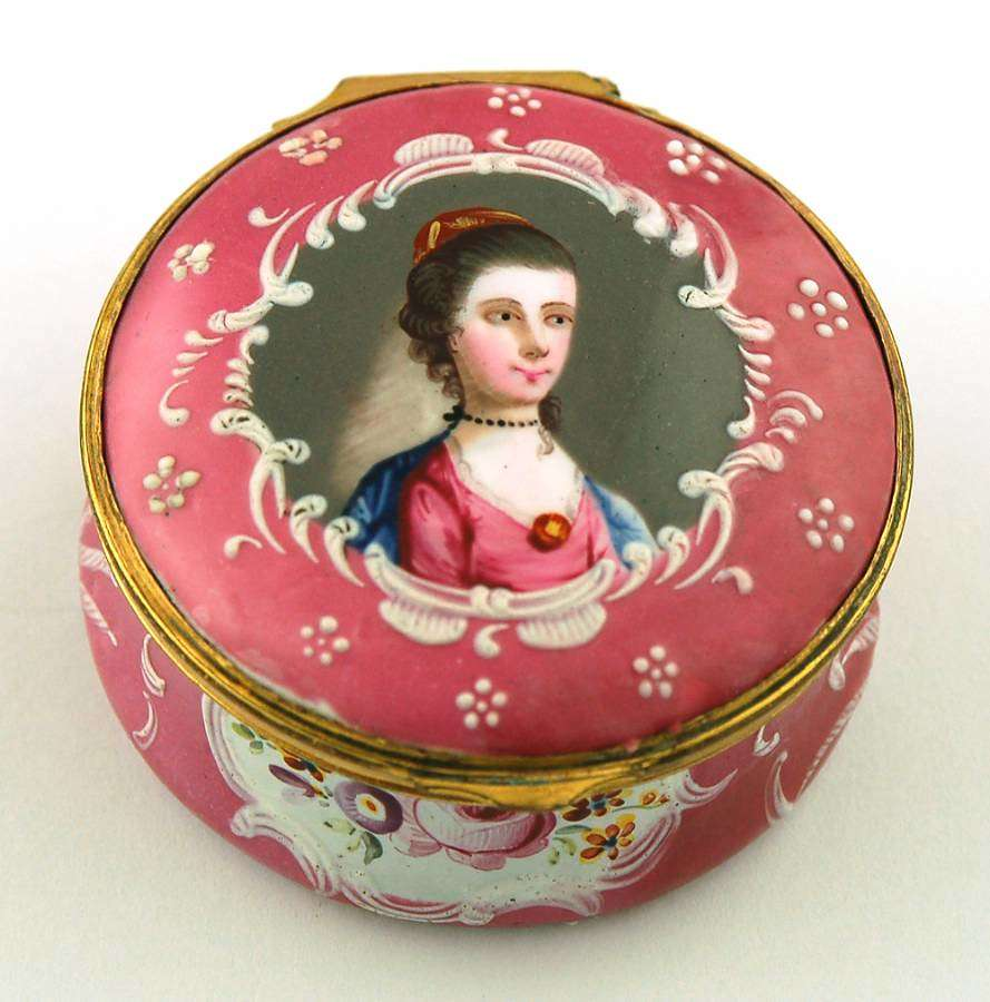 Pink Box with Portrait