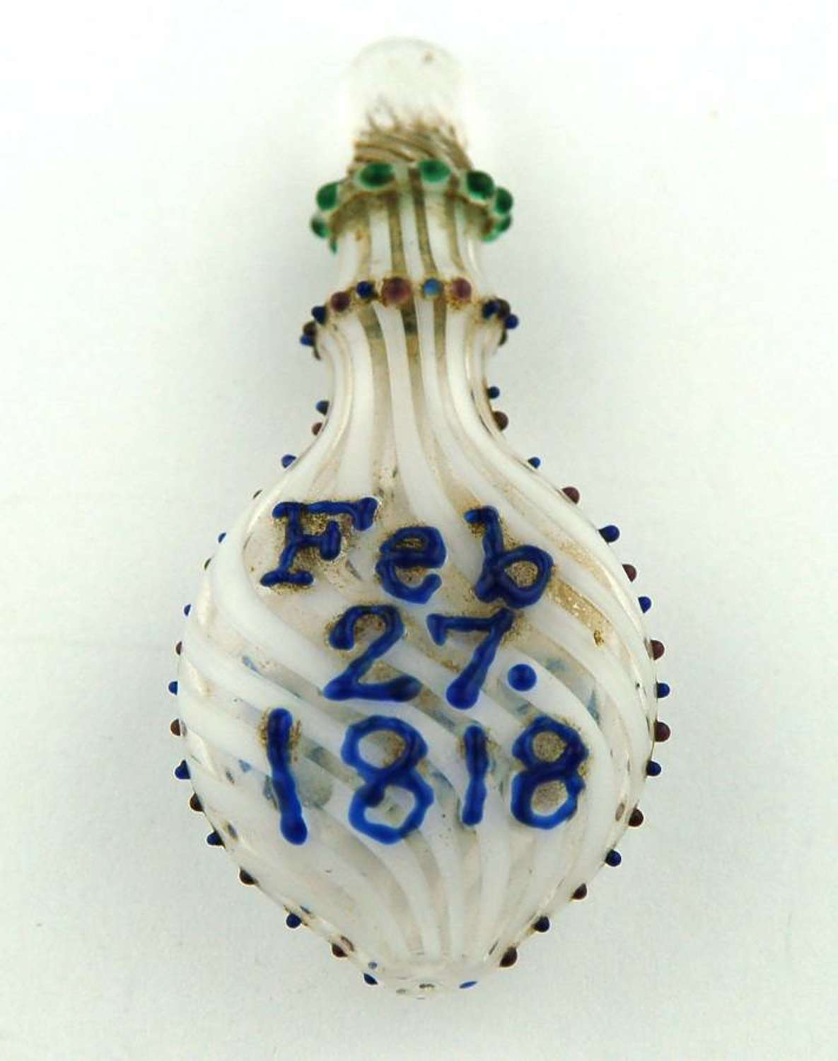 Nailsea Scent dated 1818