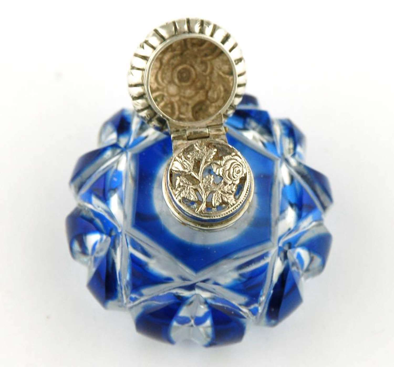 Blue Overlay Vinaigrette