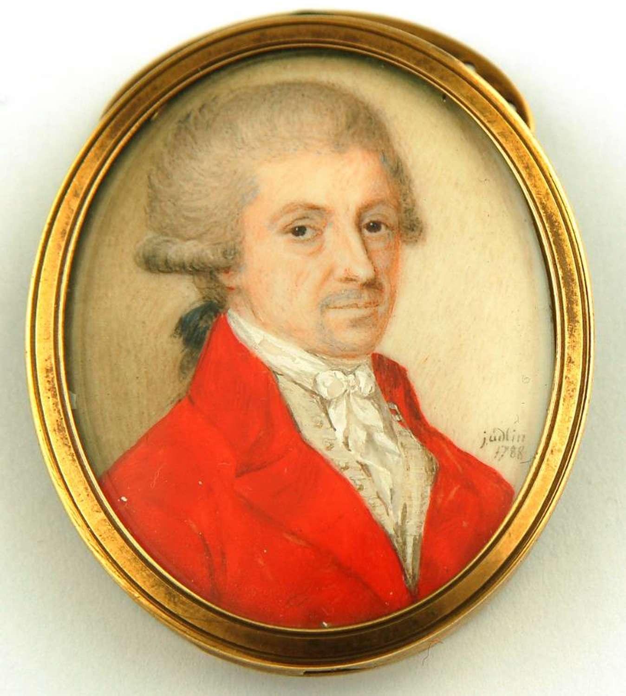 Gent signed Judlin 1788