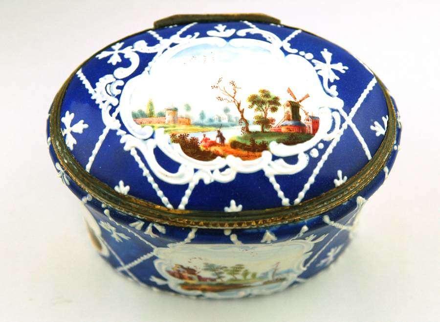 Large Blue Birmingham Box