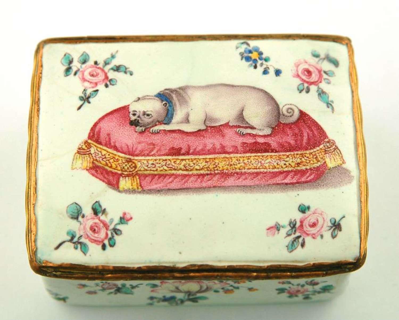 German Pug Box