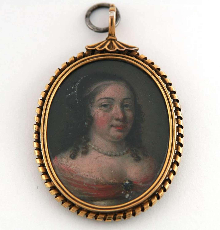 Flemish Lady C1660
