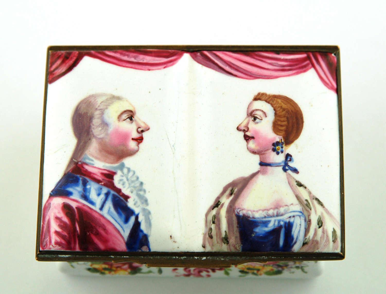 George III & Queen Charlotte