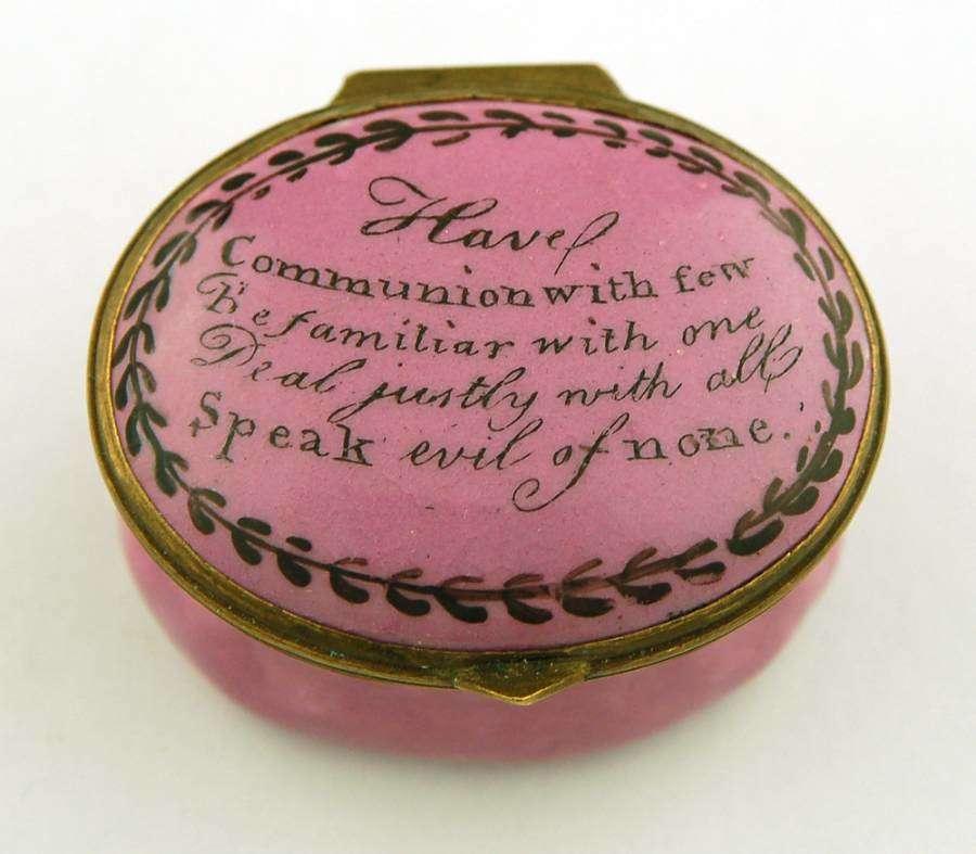 Pink Have Communion
