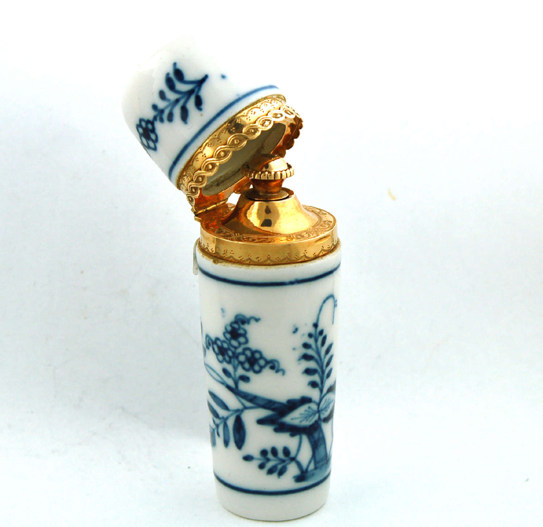 Gold-Mounted Meissen