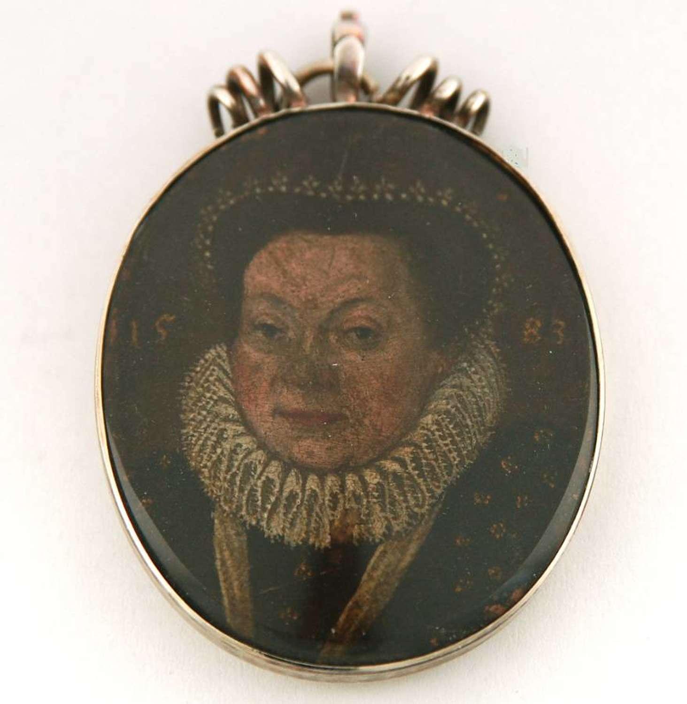 Miniature dated 1583