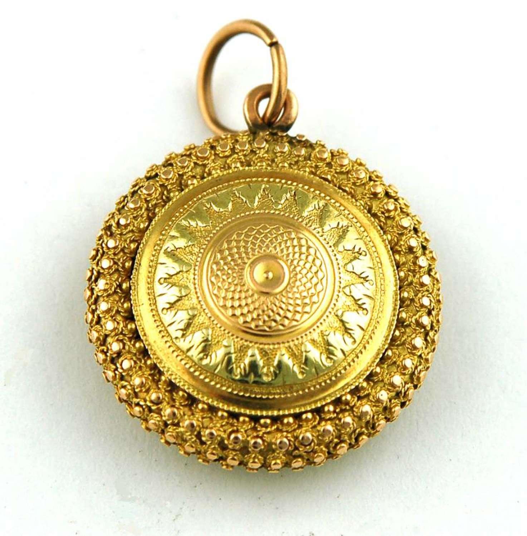 2-Coloured Gold Vinaigrette