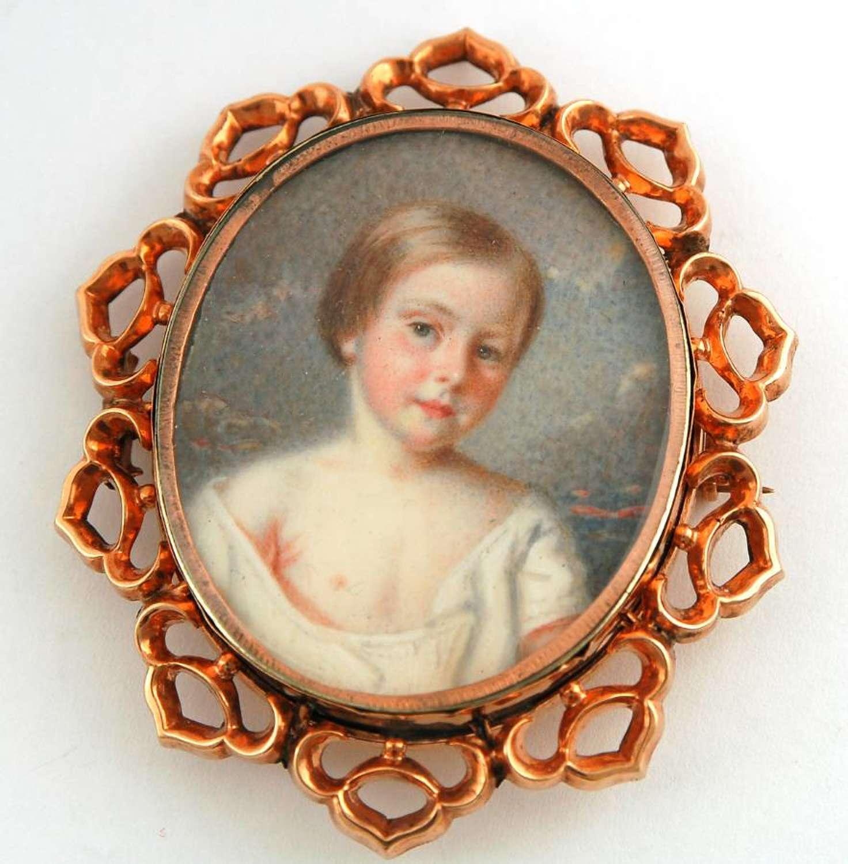 Decollete Child dated 1853