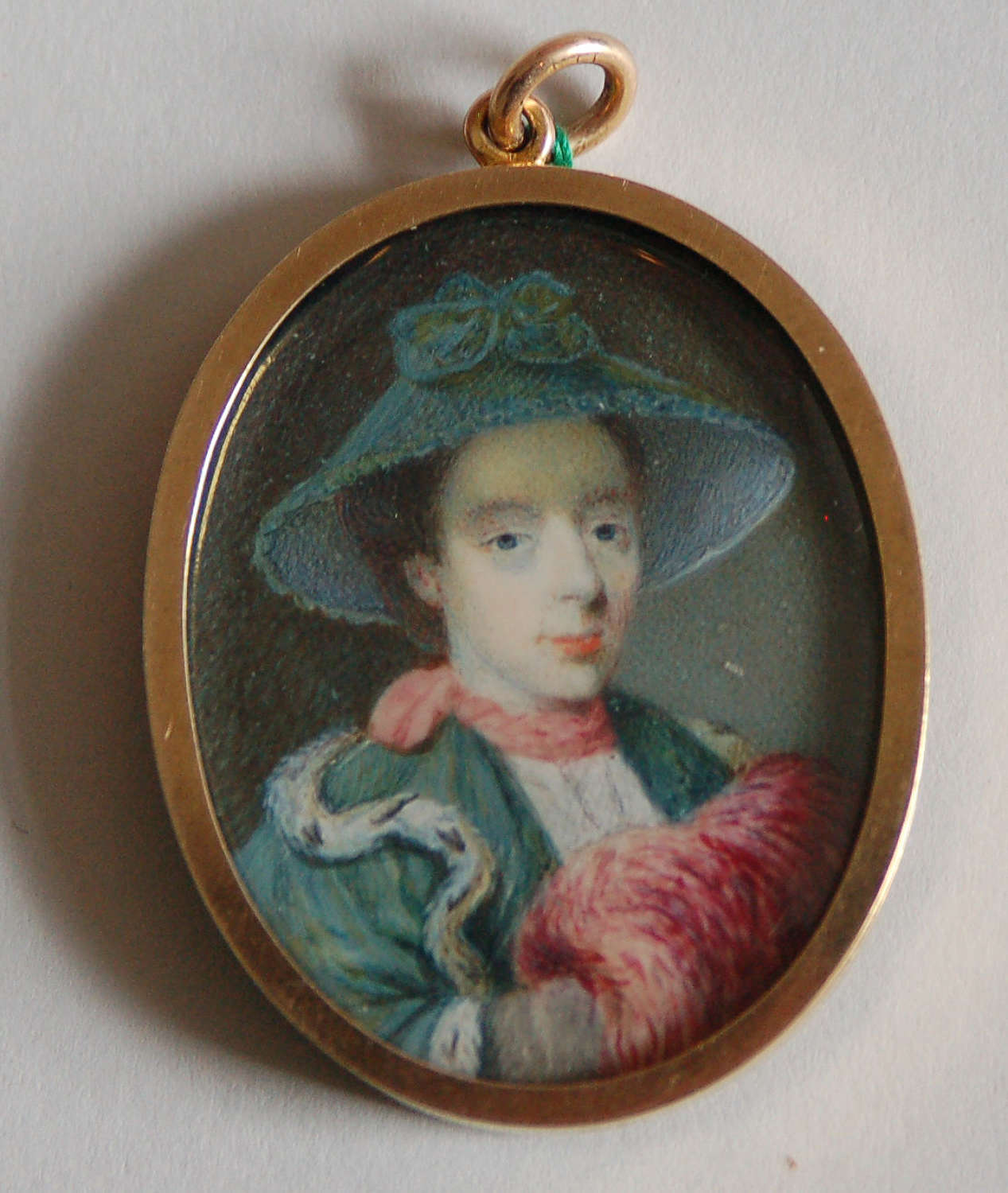 Lady with muff