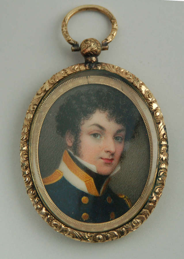 Naval officer by Stump C1825