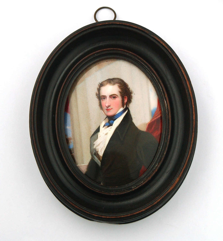 Enamel gent by William Bate 1825